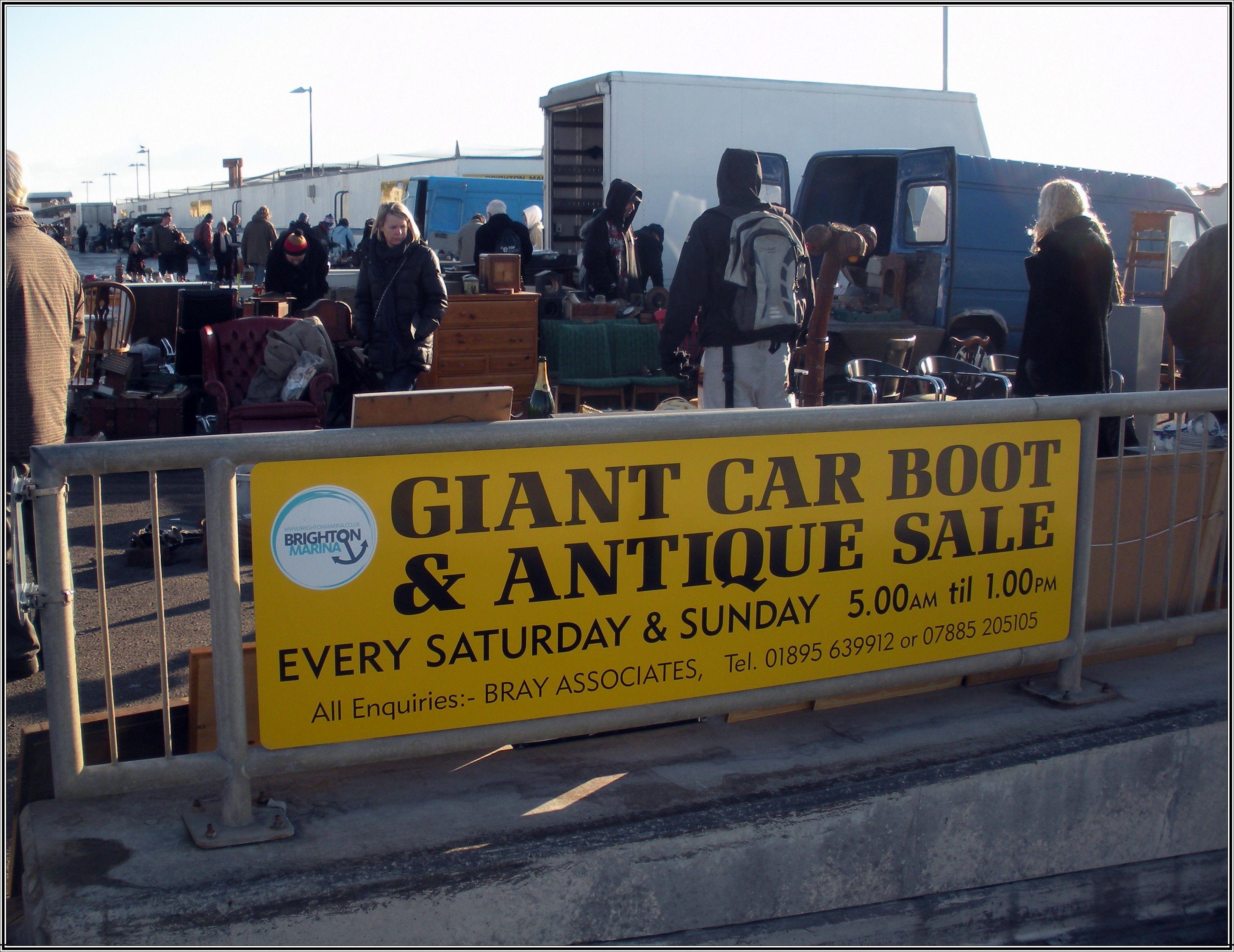 Brighton marina car boot fair