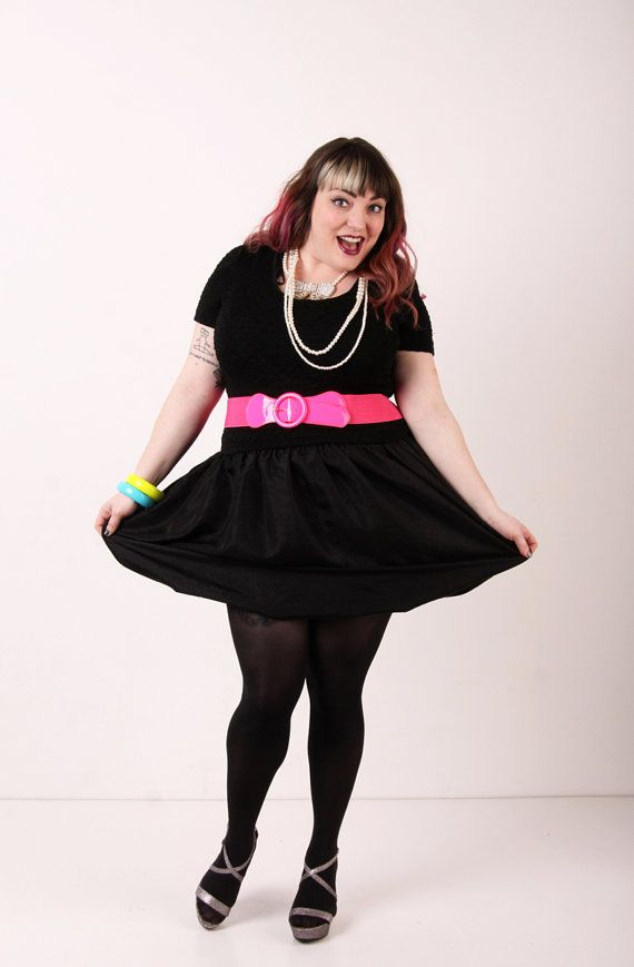 Life of the Party Dress Plus Size Vintage  by redressvintageshop, $44.00