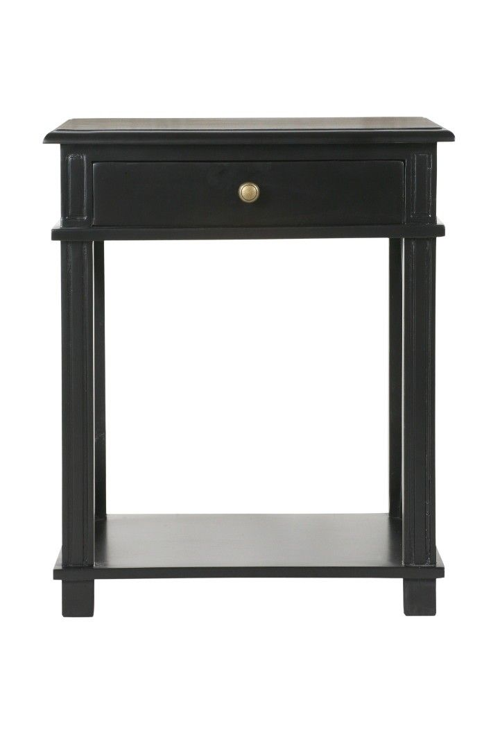 Manto Bedside Table Black Interiors Online Furniture Decorating Accessories