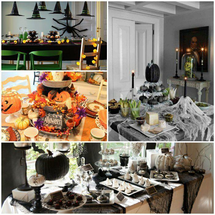 Zu Halloween Basteln Meistern Sie Eine Festliche Tischdeko