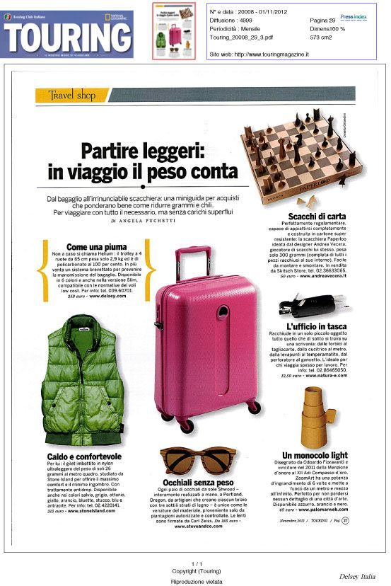 Touring Italy Pink Suitcase Travel Delsey Delsey Delsey Luggage Rolling Suitcases