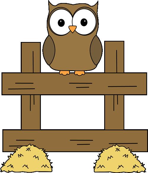 Back Fence Clipart Owl Images Owl Clip Art Clip Art