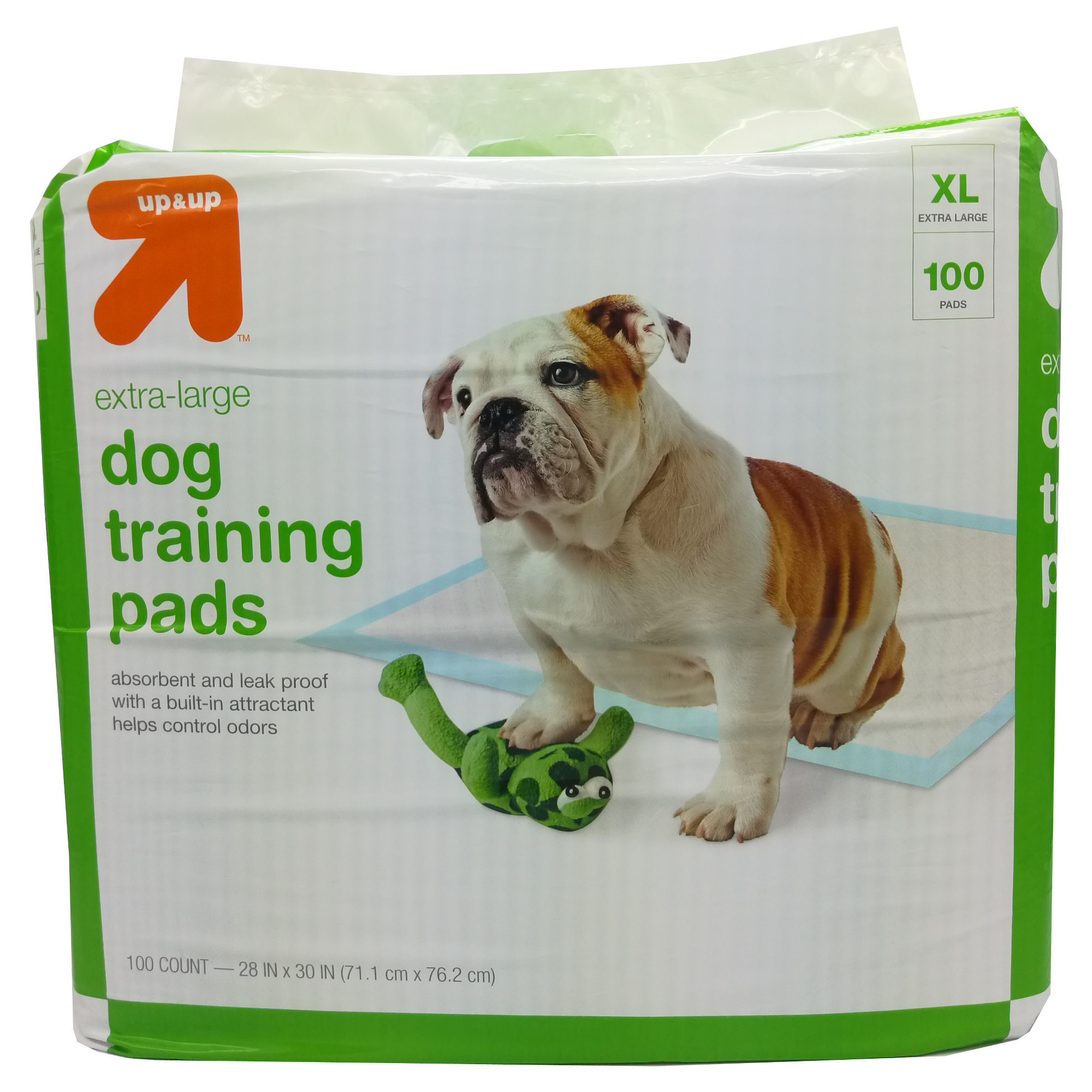 Pet Training Pads Xl 100ct Up Up Blue Adult Dog