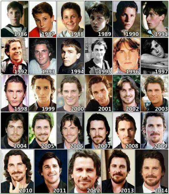 Evolution of Christian Bale