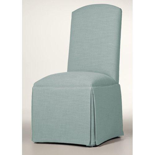 found it at wayfair hadley skirted parsons chair coastal state rh pinterest com
