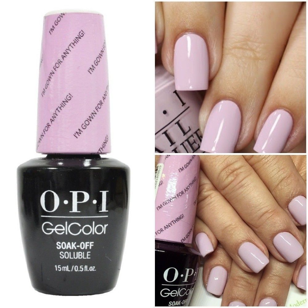 New Opi Gelcolor Soak Off Uv Led Gel Nail Polish 100 Authentic 0 5oz You Choose Nail Polish Opi Gel Polish Opi Pink Gel