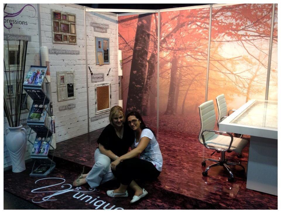 Autumn design show stand