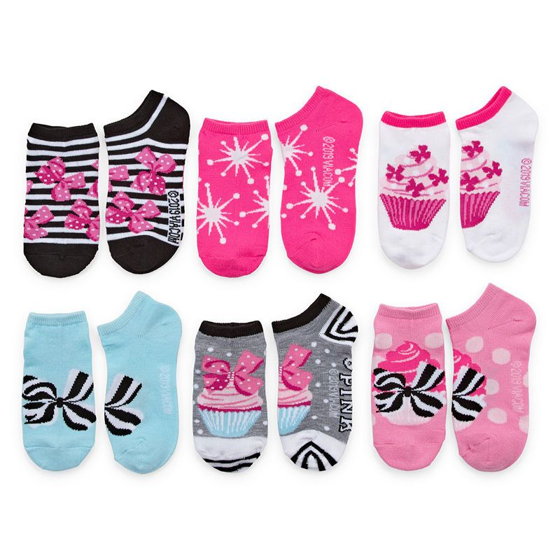 Jojo Siwa Socks for Girls No Show Sock 6 Pairs