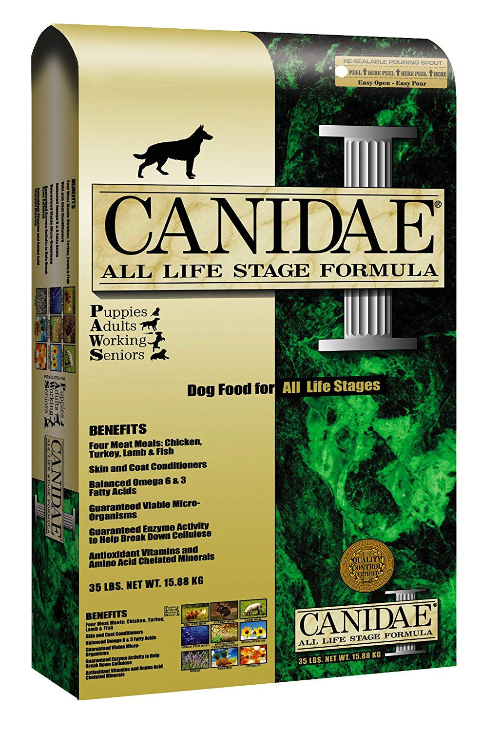 Canidae Dry Dog Food For All Life Stages Chicken Turkey Lamb