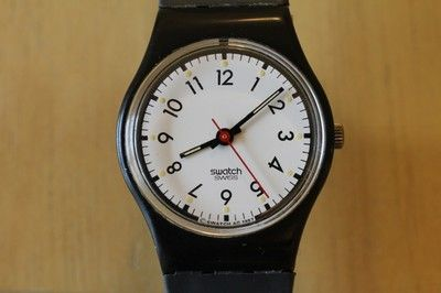 Swatch Women's 1987 'Classic Two' LB116 -Great Vintage Shape
