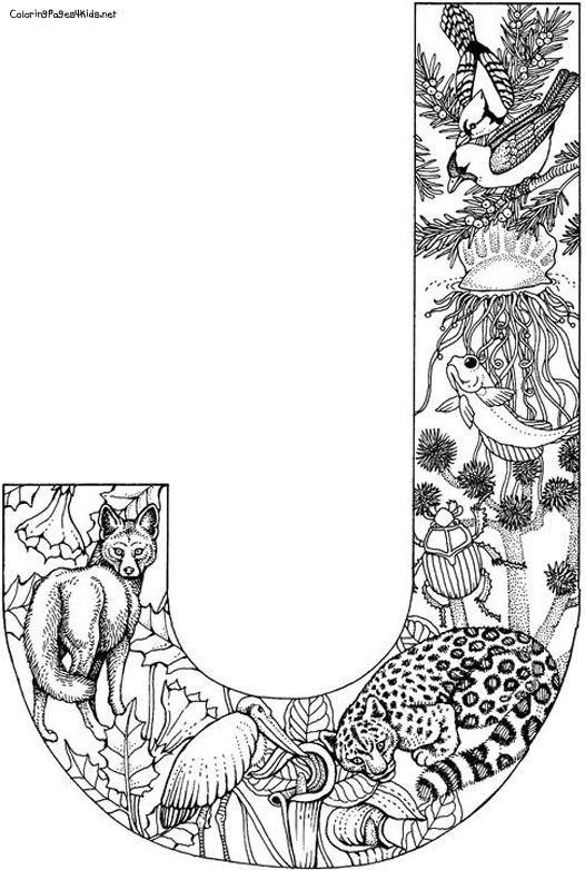 Coloring Sherri Tarafindan Alfabe Calisma Sayfalari Alfabe