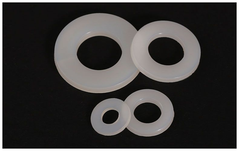 2.98US $  100Pcs DIN125 ISO7089 M2 M2.5 M3 M4 M5 M6 M8 M10 White Plastic Nylon Washer Plated Flat Spacer Washer Gasket Ring NL03045 nylon washer spacer washerswasher gasket - AliExpress