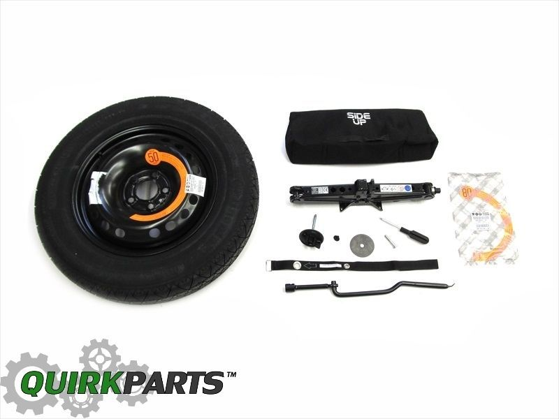 2015 Jeep Renegade Emergency Spare Tire Wheel Kit With Roadside