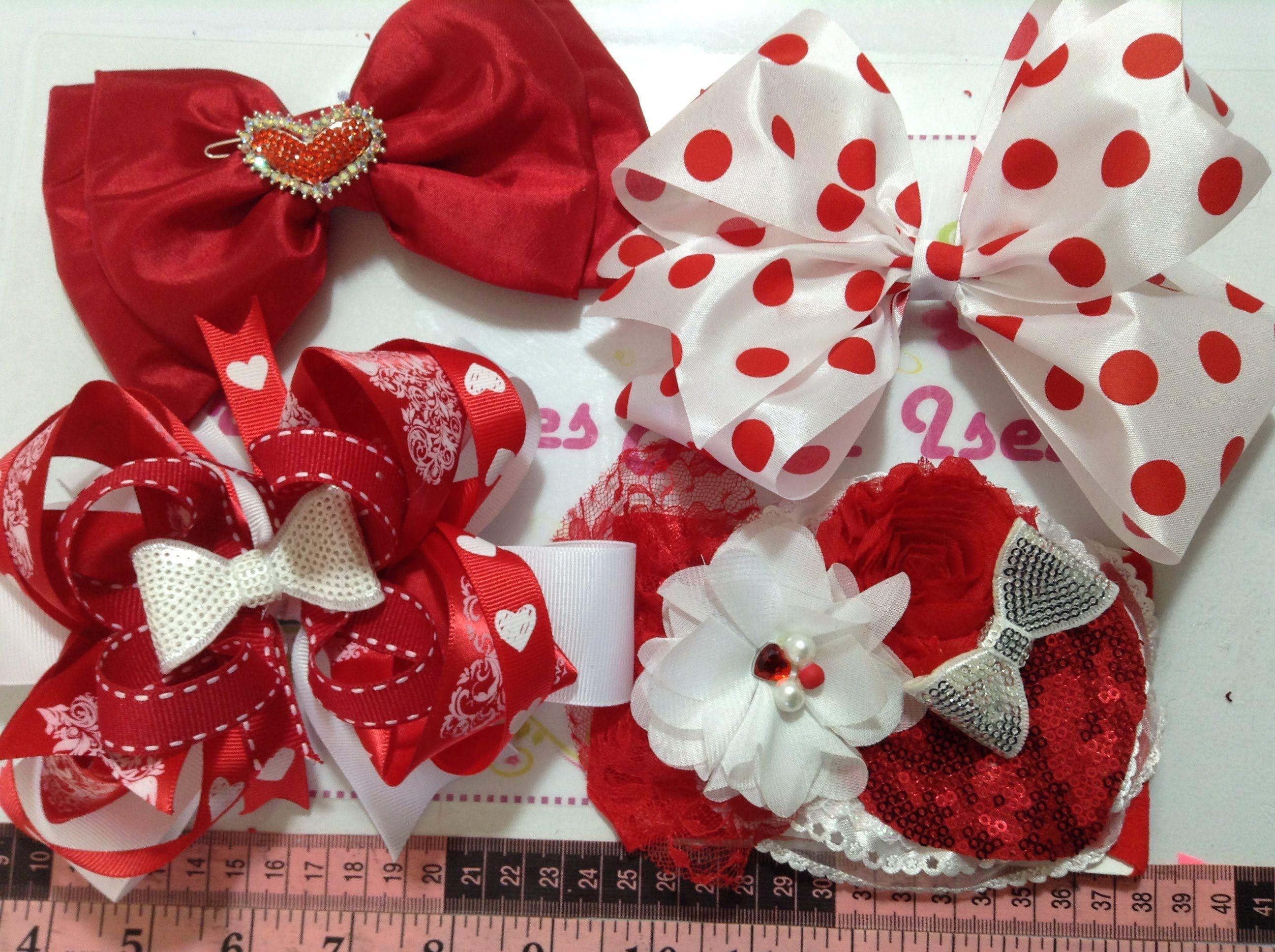 Moños Para El Cabello De San Valentin Hacer Arcos De Pelo Moños Para El Cabello De Boutique Como Hacer Moños