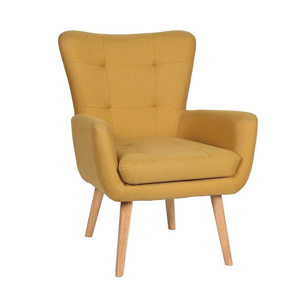 Alva Ochre Chair Bedroom In 2019 Chair Ochre Bedroom