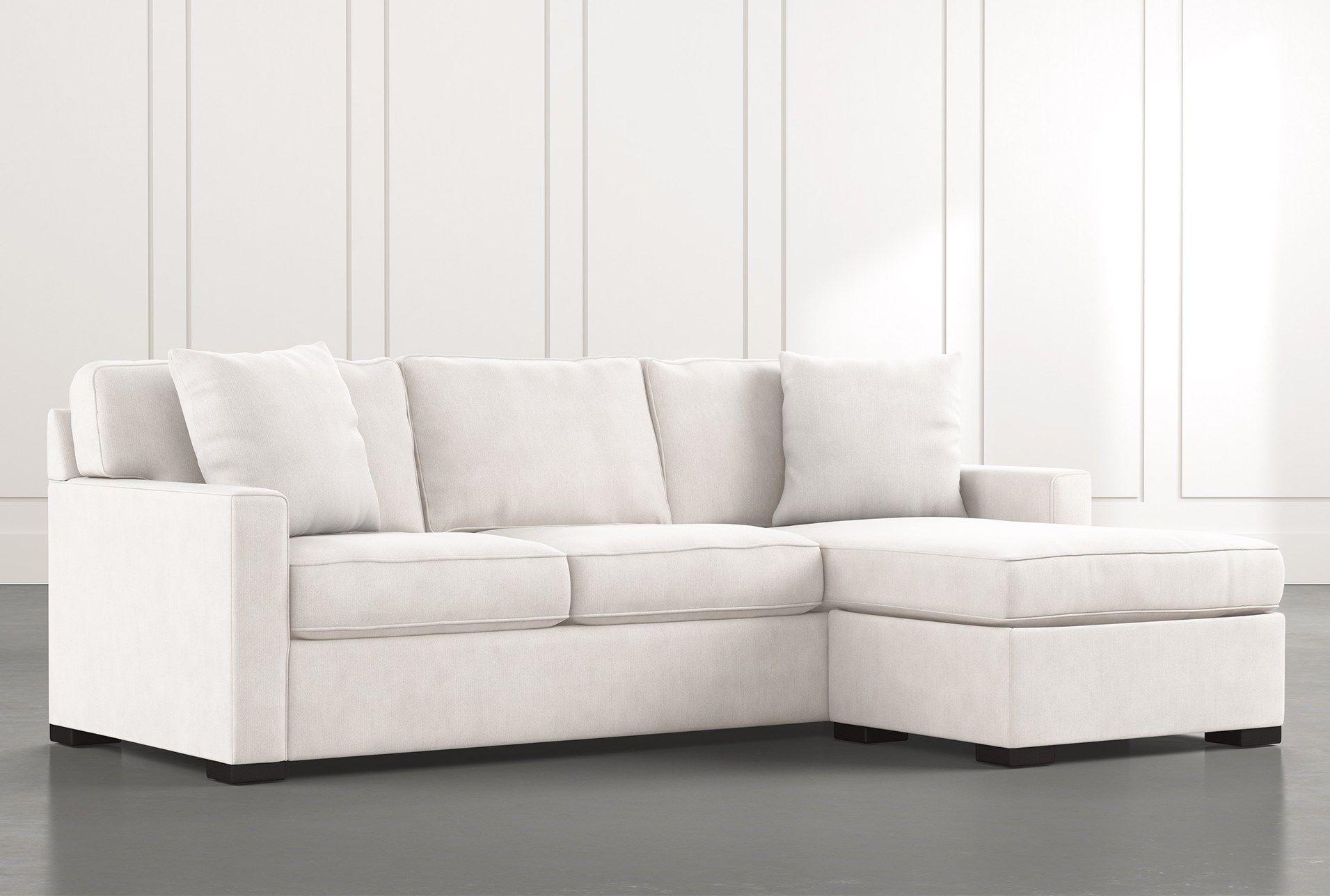Sofa Chaise Sleeper W Storage Ottoman