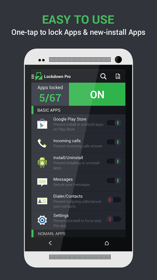 Lockdown Pro Premium App Lock v1.1.7 apk Best app lock