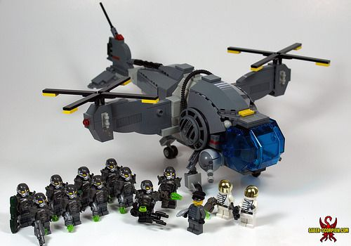 LEGO Fallout Enclave Vertibird | Obsession, thy name is