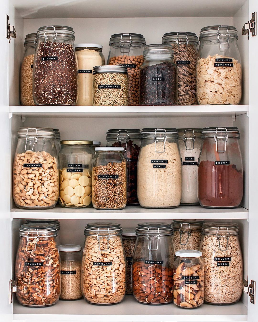 cherie tu on instagram pantry all stocked up for the month mine is filled with zero waste on zero waste kitchen interior id=98442