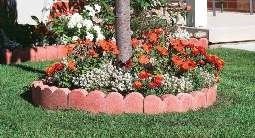 Curved Scalloped Garden Edging Garden Edging Stones 400 x 300
