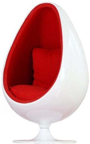 Space Egg Stool Red 950 Wow Cool Pinterest Stools Spaces