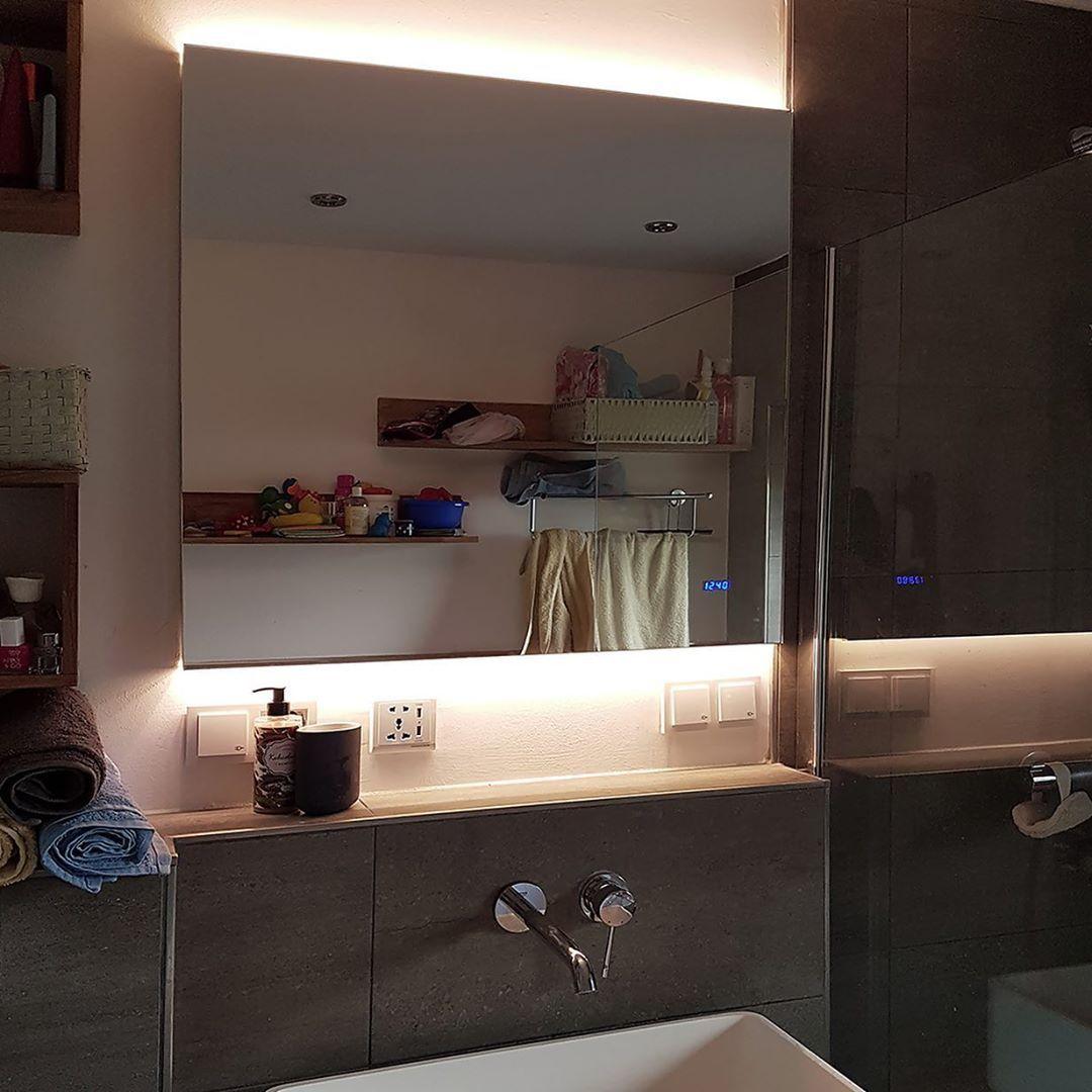 Noemi 2019 Design Badezimmerspiegel Mit Led Beleuchtung Zum