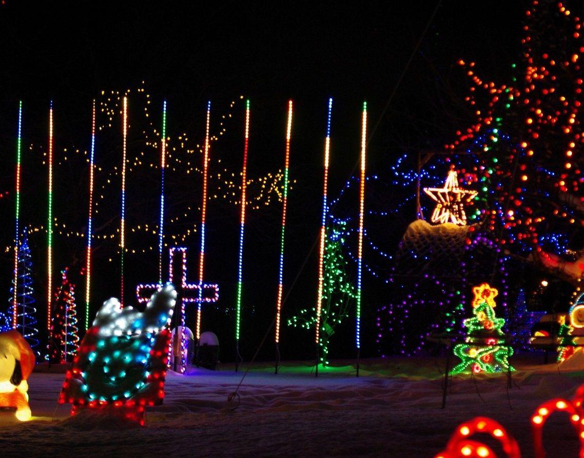 Extraordinary Lowes Christmas Lights Christmas Lights Christmas Fun Slide