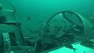 Diving Voodoo F101 Fighter Planes In Panama City Beach Fl