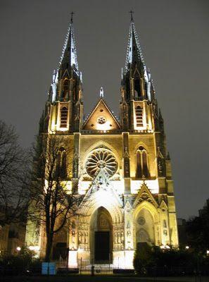 Saint Clotilde church, Paris