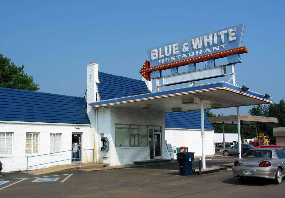 Blue White Restaurant In Tunica Is A Landmark Mississippi