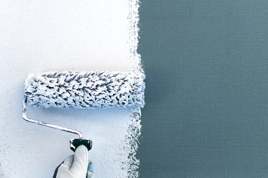 How to Paint Over Wallpaper in 2020 Painting over