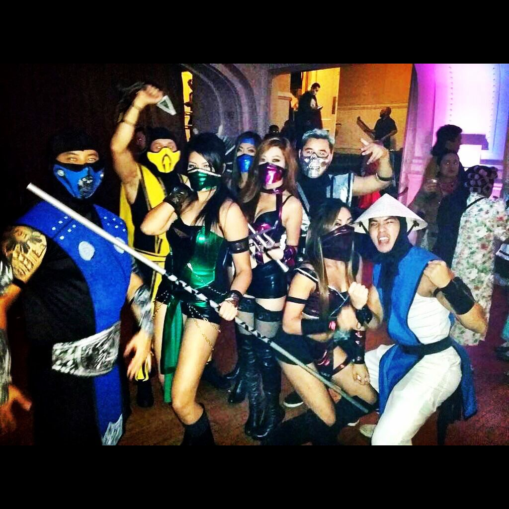 mortal kombat costume subzero scorpion jade mileena kitana skarlet - Mortal Kombat Smoke Halloween Costume