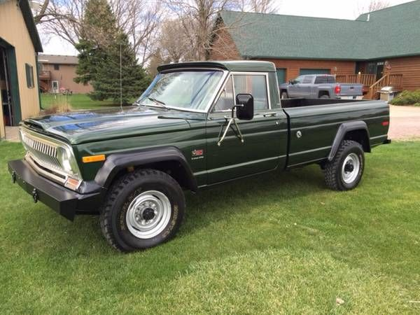 Daily turismo mean green and clean 1974 jeep j20 pickup daily turismo mean green and clean 1974 jeep j20 pickup publicscrutiny Image collections