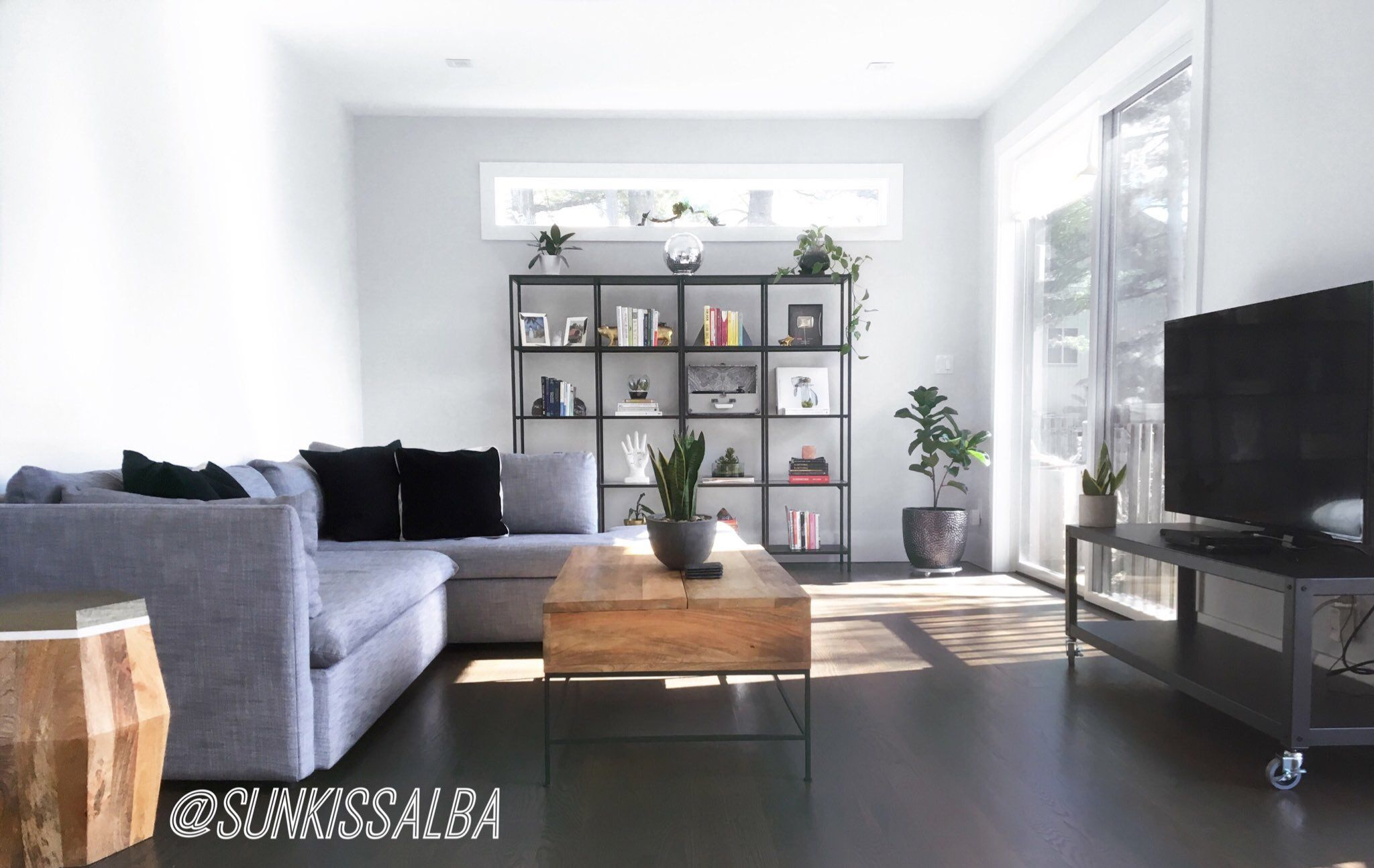Living Room Aesthetics Modern Industrial And Wood Combination With A Clean White And Minimalistic Lo Living Room With Fireplace Living Room Home Decor Styles