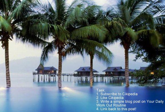 Win a Tropical Island Holiday! Pangkor Laut Resort, 3days 2nights holiday!
