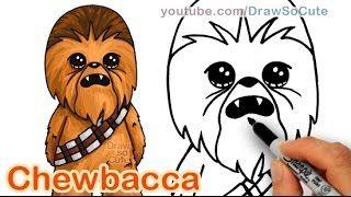 Draw So Cute Youtube Star Wars Drawings Cute Drawings