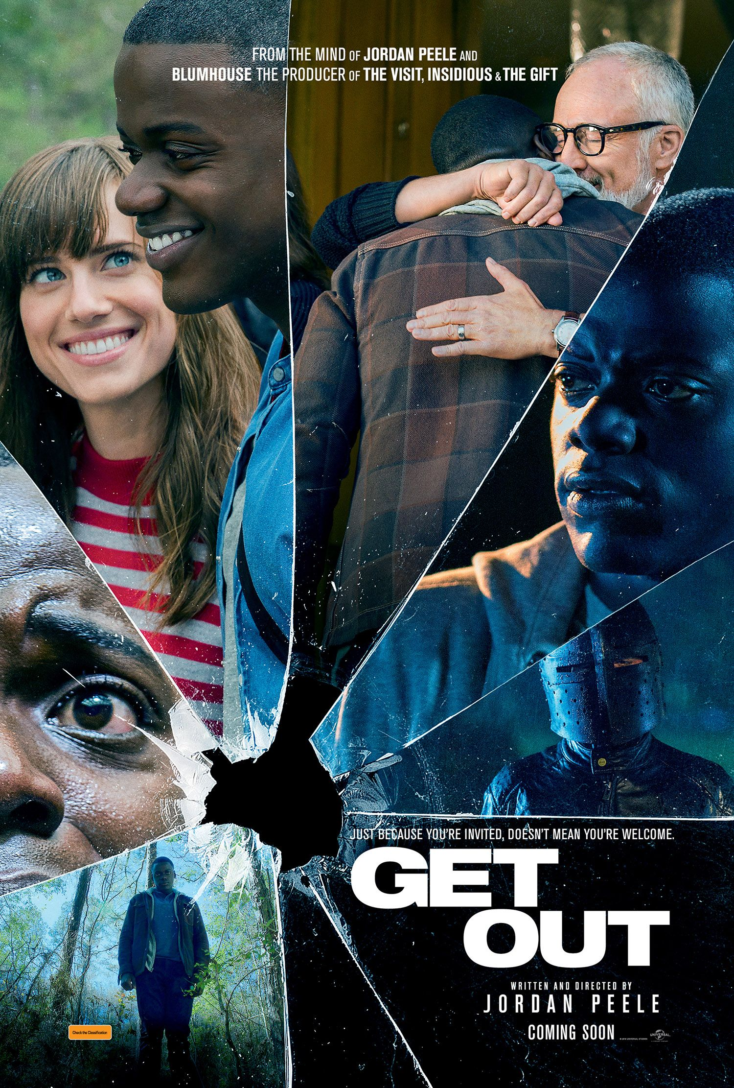 #GETOUT is my favourite movie of 2017 (so far). A post-modernitistic cerebral horror made for the current U.S. climate on a limited budget with sublime results. Out Thur May 4 in Australia from Universal Pictures Australia​. http://saltypopcorn.com.au/get-out/