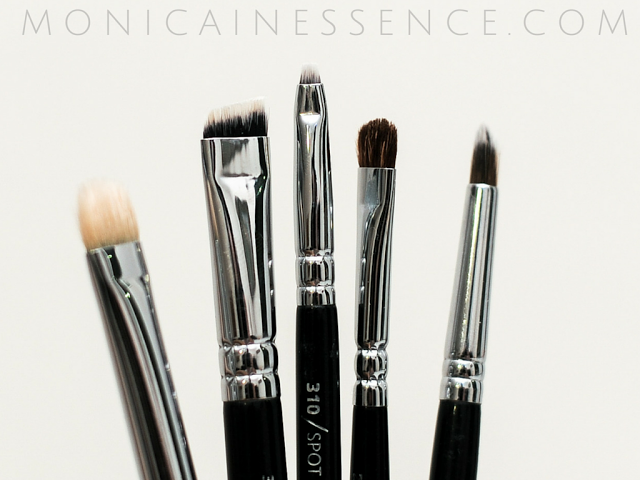 ZOEVA single brushes 234, 237, 320, 310 and 322 review
