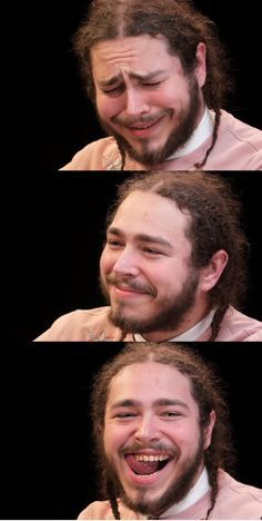 w e i r d b o i - quality faces from Post Malone's 'hot sauce' interview #postmalonewallpaper