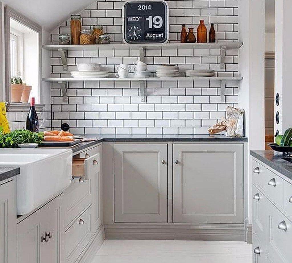 Denah Peralatan Dapur Minimalis Unik di 3  Desain dapur modern