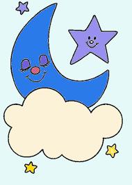 Resultado De Imagen De Estrellas Dibujos En Color Estrellas Dibujos Sol Luna