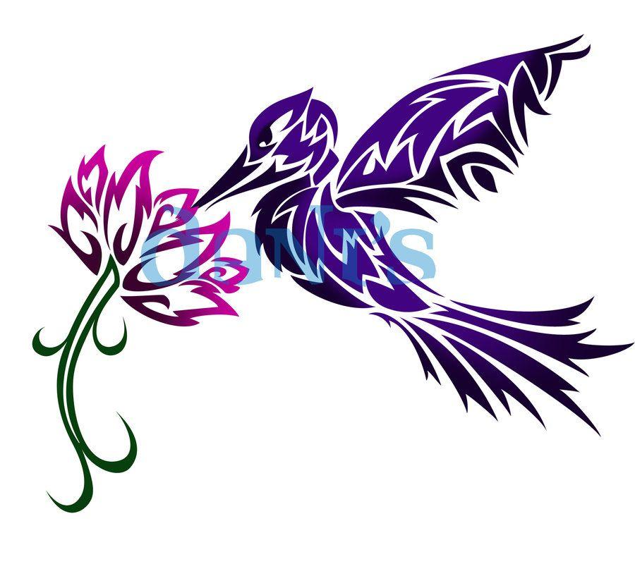 Tribal Scorpion By White Tigress 12158 On Deviantart: Humming Bird And Flower Tribal By White-tigress-12158