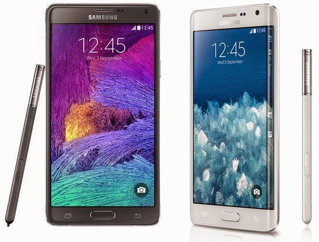 Galaxy Note Edge Vs Galaxy Note 4 Galaxy Note 4 Samsung Galaxy Note Samsung