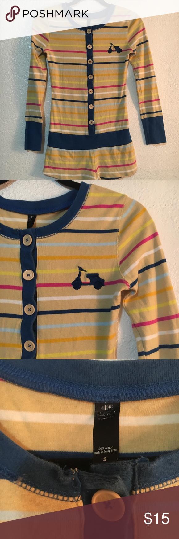 Paul Frank pajama onesie! Colorful stripes! 🌈🌈 Cute Paul ...