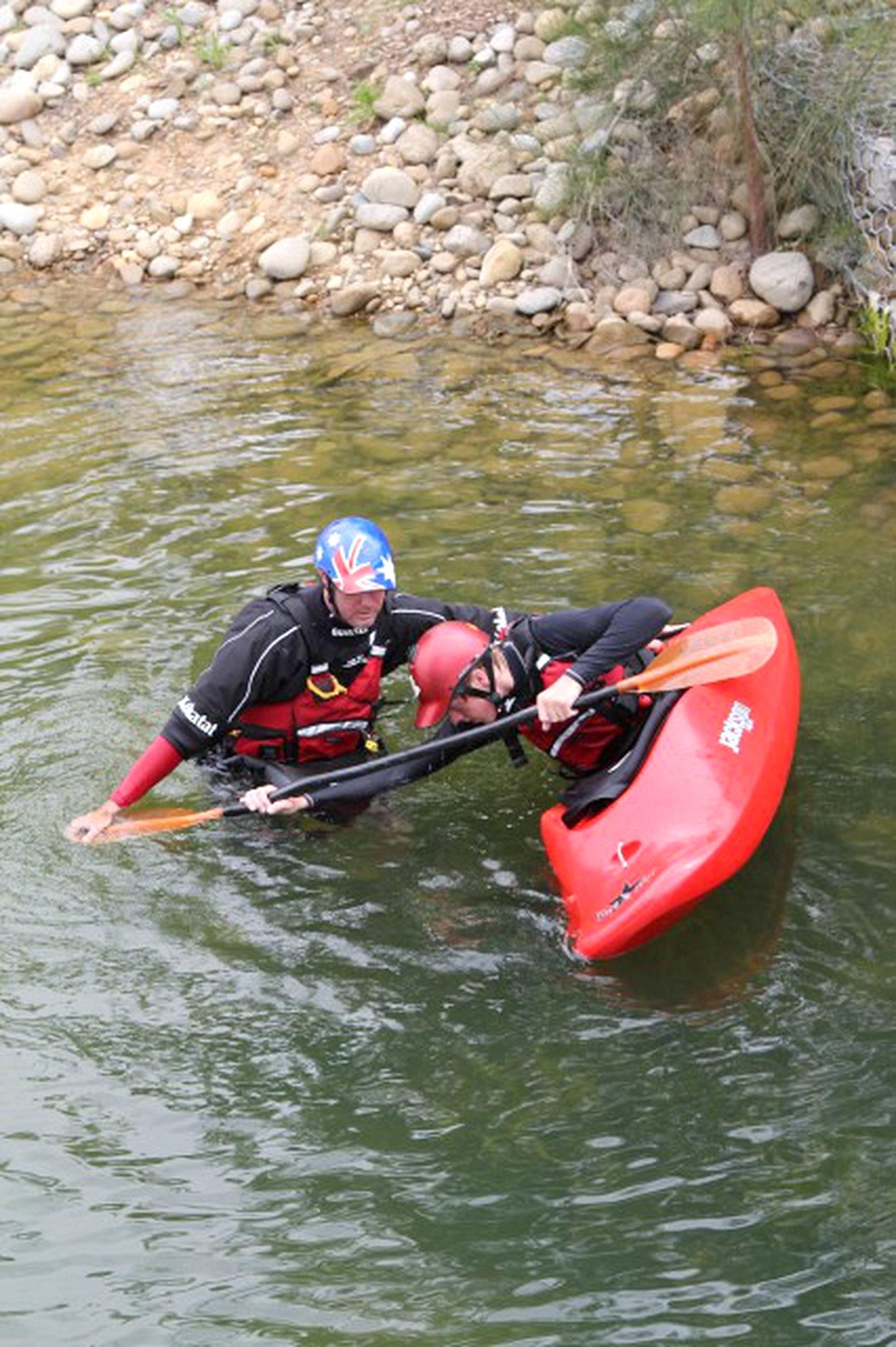 k1 kayak paddling technique finder Whitewater kayaking