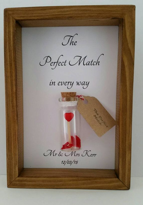 Wedding Gift Perfect Match S Anniversary Present The