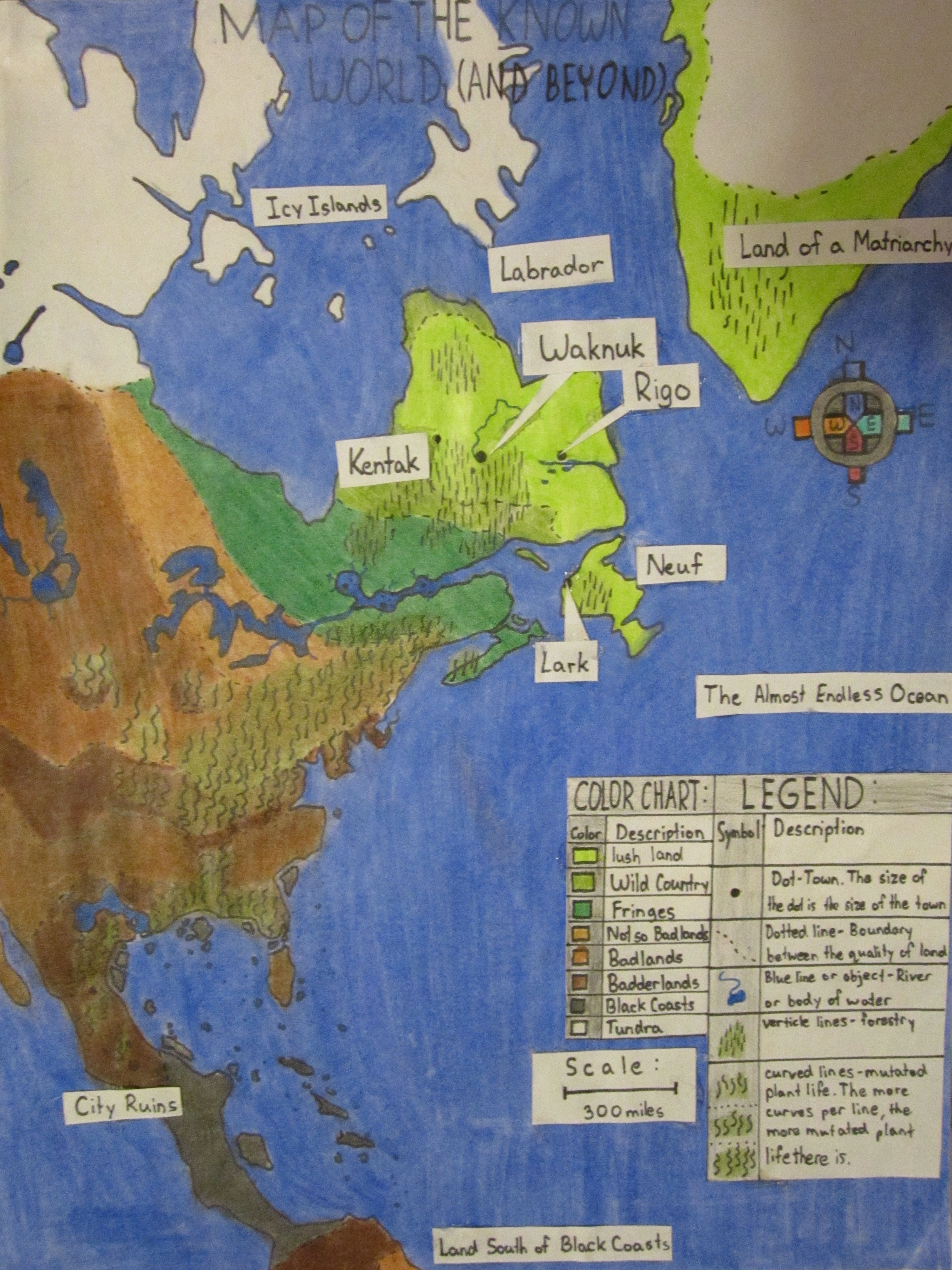 Waknuk The Chrysalids Map Setting