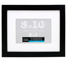 Black Belmont Frame With Mat By Studio Decor Studio Decor Frame Picture Frame Wall