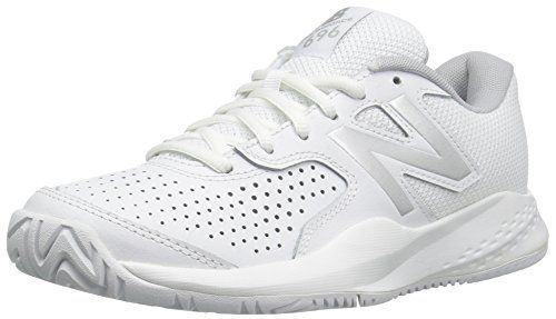 New Balance Womens Wc696 Whitesilver 95 B Us Details Can Be Found By Clicking On The Image Tennis Shoes New Balance Women White Shoes Sneakers
