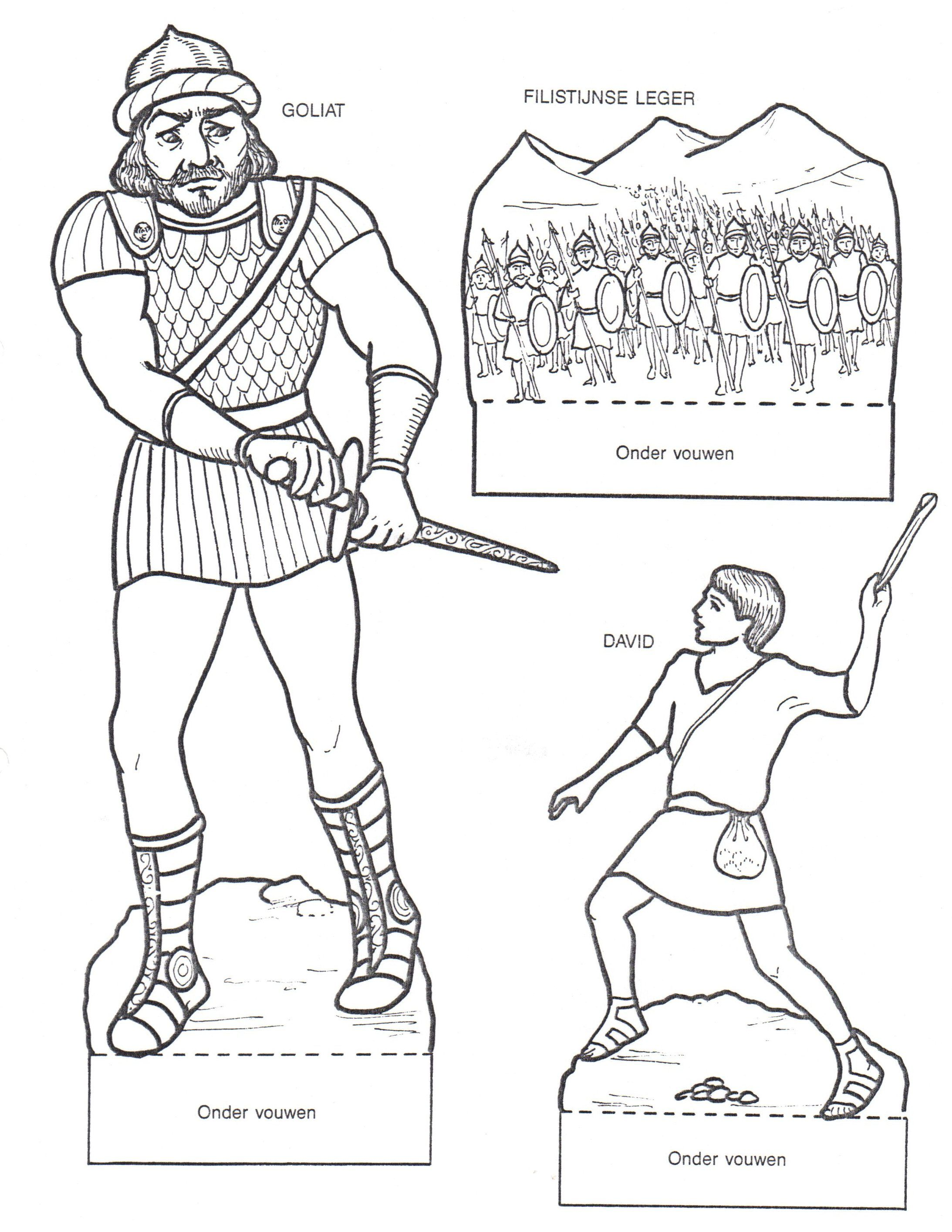 picture relating to David and Goliath Printable Story referred to as David and Goliath printables Previous Testomony - David David